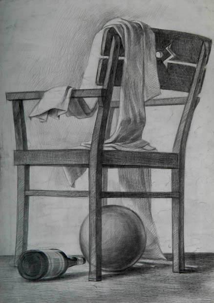 Desen çalışmaları Güzel Sanatlarda Sınav Heyecanı