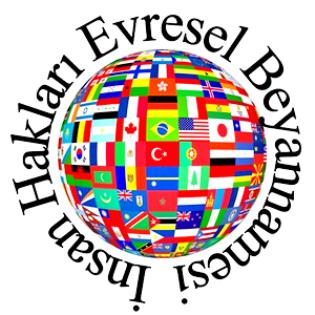 İnsan Hakları Bildirgesi logosu ile ilgili görsel sonucu