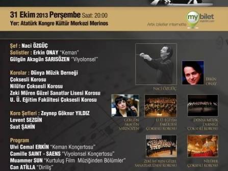 Bursa Bölge Devlet Senfoni Orkestrası Konseri