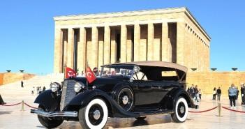Anıtkabir Komutanlığı envanterinde bulunan Gazi Mustafa Kemal ATATÜRK'ün makam otomobili olarak kullandığı üç adet otomobilin restorasyonu kapsamında; 18 Haziran 2014 tarihinde İstanbul'da bulunan Antika Otomobil Federasyonu atölyelerinde restorasyonuna başlanan ilk otomobil olan 1934 model Lincoln marka otomobilin restorasyonu tamamlanmıştır.