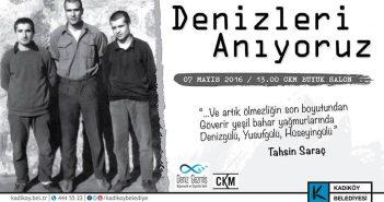 Deniz,Mustafa,Yusuf anma