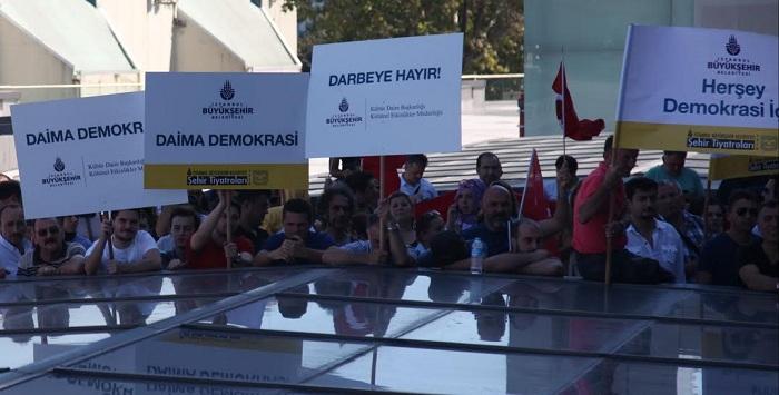 İBB Şehir Tiyatroları (2) Demokrasi toplantısı