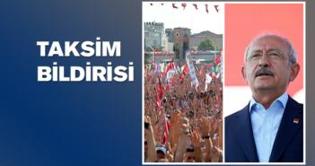 Taksim Bildirisi