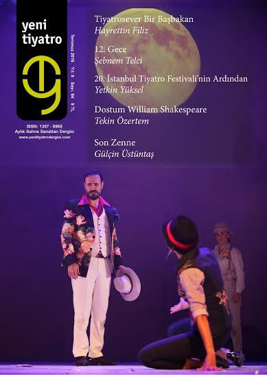 Tiyatro dergisi yeni sayısı