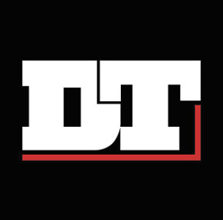 DT Kırmızı siyah logo