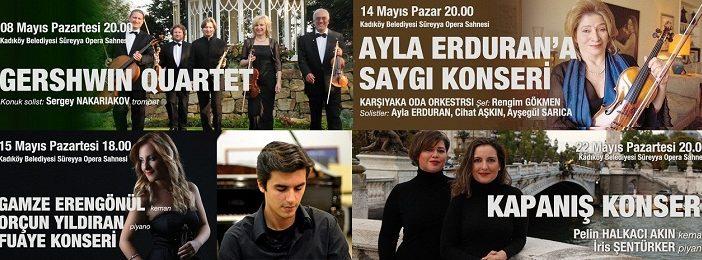 Kadıköy Süreyya Operası 2017 Mayıs ayı Konserleri