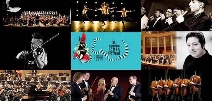 İKSEV 31.Uluslararası İzmir Festivali (1 Haziran – 4 Temmuz 2017)
