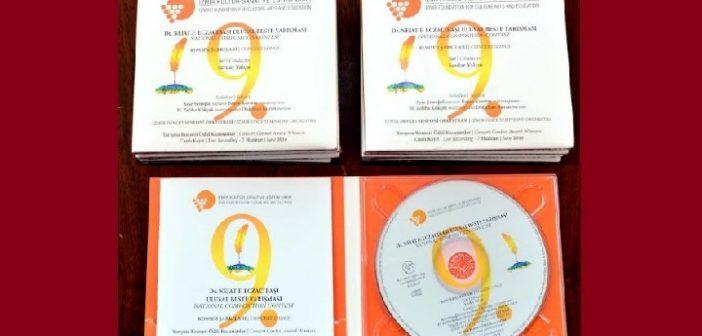 İKSEV 9.Dr.Nejat F. Eczacıbaşı Ulusal Beste Yarışması CD'si yayımlandı.