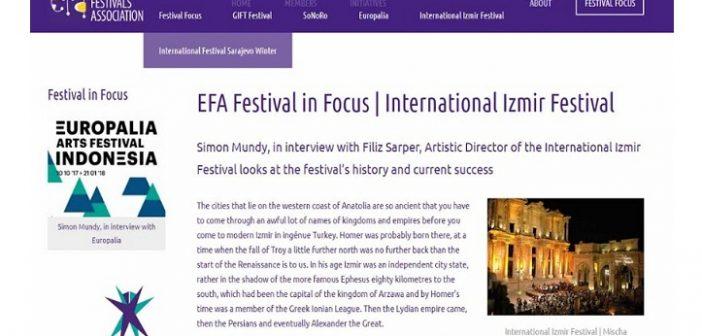 Simon Mundy, Uluslararası İzmir Festivali'ni değerlendirdi.