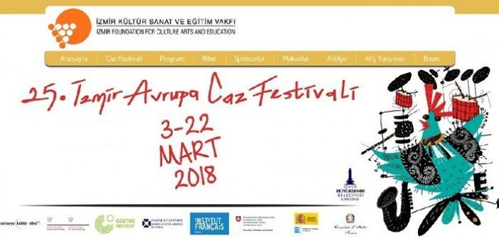 25.İzmir Avrupa Caz Festivalinde Son Hafta