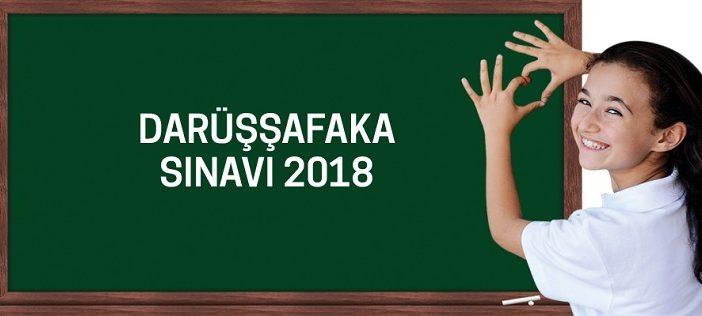 Darüşşafaka Giriş Sınavı 27 Mayıs Pazar 2018