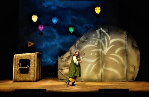 """22, 23 ve 24 Nisan tarihlerinde Van Devlet Tiyatrosu yapımı çocuk oyunu """"Zambak Limanı"""","""