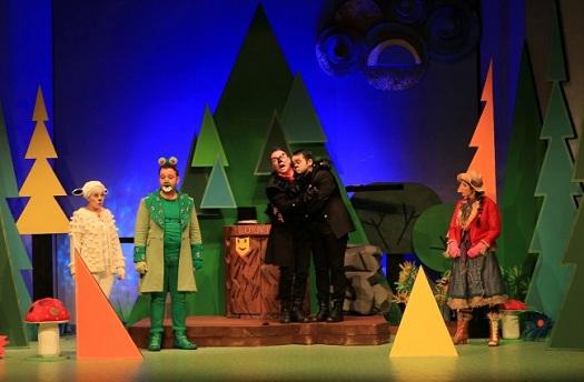 """27, 28 ve 29 Nisan tarihlerinde İzmir Devlet Tiyatrosu yapımı çocuk oyunu """"Kuzu Maydanoz'un Maceraları""""Cahit Sıtkı Tarancı Kültür Merkezi Orhan Asena Sahnesinde"""