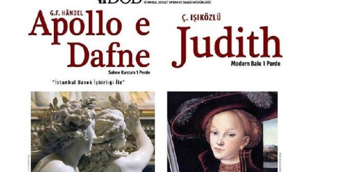 İDOB: APOLLO ve DEFNE – JUDİTH (Kantat-Bale)