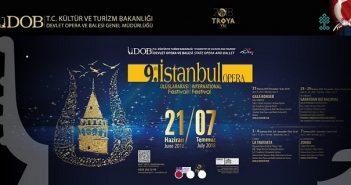 9.Uluslararası İstanbul Opera Festivali başlıyor (21 Haziran-7 Temmuz 2018)