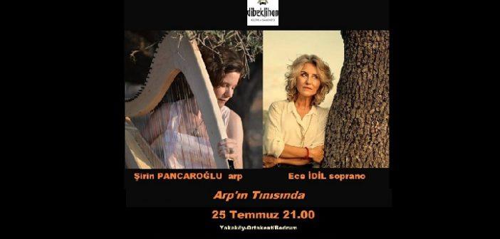 Dibeklihan Kültür Sanat Köyü: Arpist Şirin Pancaroğlu-soprano Ece İdil Konseri