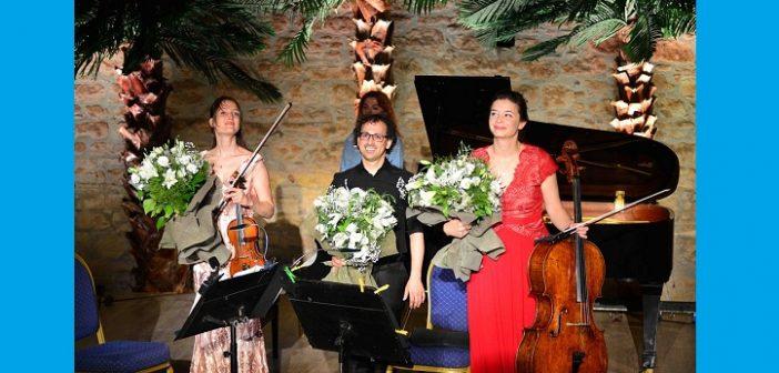 32.Uluslararası İzmir Festivali, Oberon Trio Konseri ile sona erdi