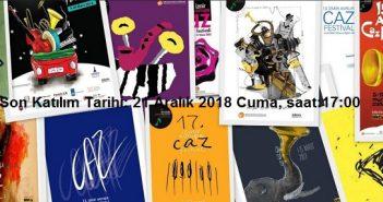 17.Caz Festivali Geleneksel Afiş Yarışmasına Davet