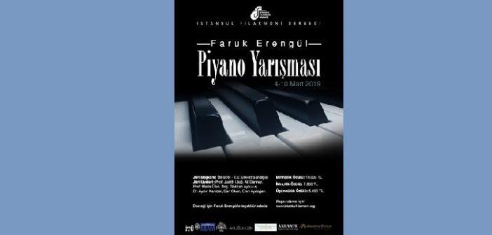İstanbul Filarmoni Derneği Faruk Erengül Ulusal Piyano Yarışması 2019