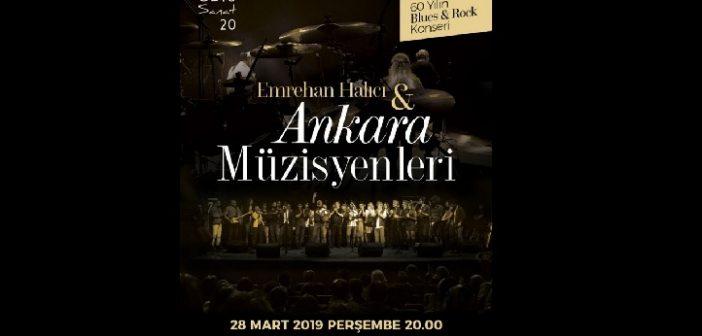 Emrehan Halıcı ve  Ankara Müzisyenleri Konserleri 14 Yaşında (28 Mart 2019)