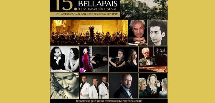 15.Bellapais İlkbahar Müzik Festivali(11 Nisan -11 Mayıs 2019)