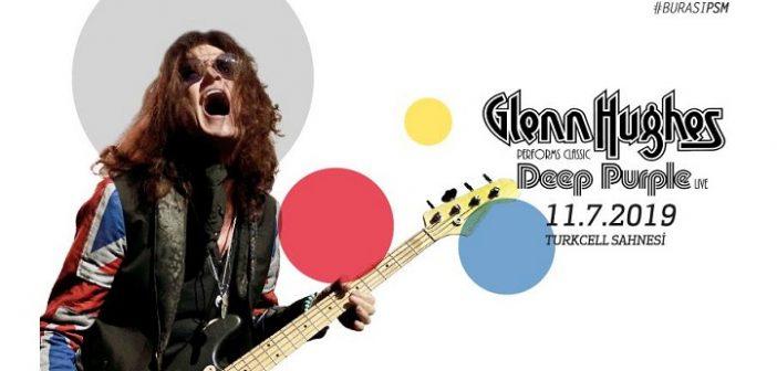 Zorlu PSM:Glenn Hughes performs Deep Purple Classics Live