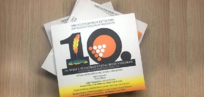 İKSEV: 10.Dr. Nejat F. Eczacıbaşı Ulusal Beste Yarışması CD'si yayınlandı