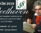 Orkestra Sion: Beethoven Konseri (10 Ekim 2019)