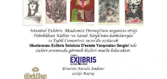 Sergi: Dibeklihan'a İtalya'dan Exlibris'ler geliyor (21 Eylül – 10 Ekim 2019)