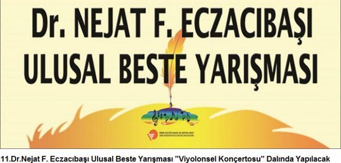 """İKSEV: 11.Dr.Nejat F. Eczacıbaşı Ulusal Beste Yarışması """"Viyolonsel Konçertosu"""" Dalında Yapılacak"""