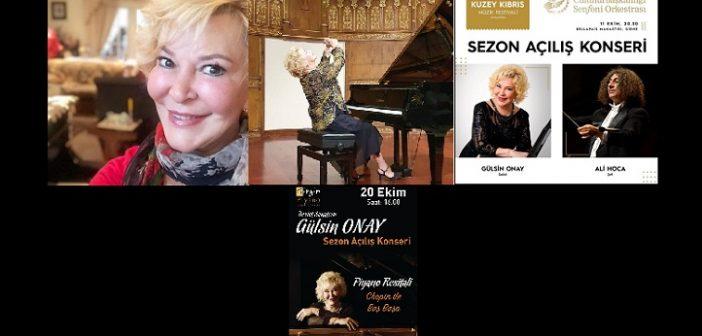 Gülsin Onay: Açılışlar ayı Ekim… Ve yurt içi, yurt dışı konserler