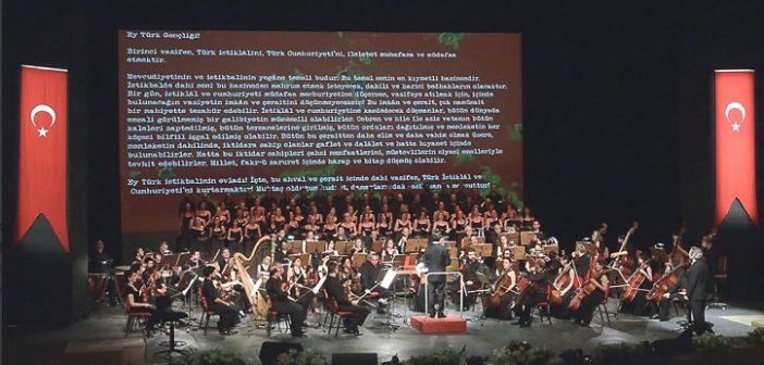 """İzmir Devlet Opera ve Balesi: """"ATA'YA AĞIT"""" Elhamra Sahnesi (10 Kasım Pazar)"""