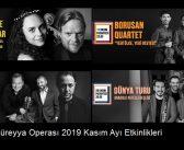 Süreyya Operası 2019 Kasım Ayı Etkinlikleri