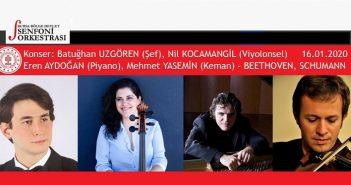 Bursa Bölge Devlet Senfoni Orkestrası- Hermias Trio Konseri (16 Ocak 2020)