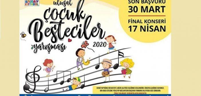 İBB Ulusal Çocuk Besteciler Yarışması 2020