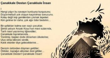 Çanakkale Destan Çanakkale İnsan 105.Yıl
