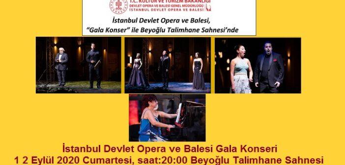 İDOB: Gala Konseri 12 Eylül 2020 Beyoğlu Talimhane Sahnesi