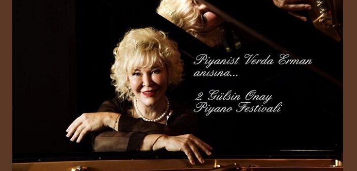 2.Gülsin Onay Piyano Festivali (5-6-7 Ekim 2021)