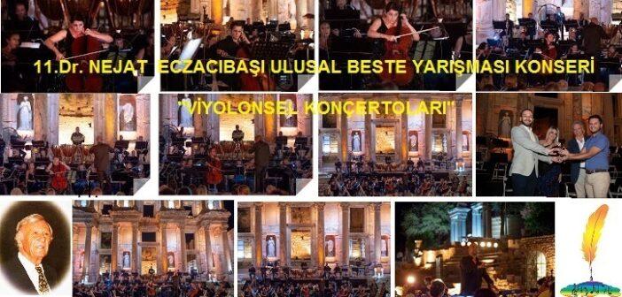 34.İzmir Uluslararası İzmir Festivali 11.Dr.Eczacıbaşı Ulusal Beste Yarışması Konseri ile başladı